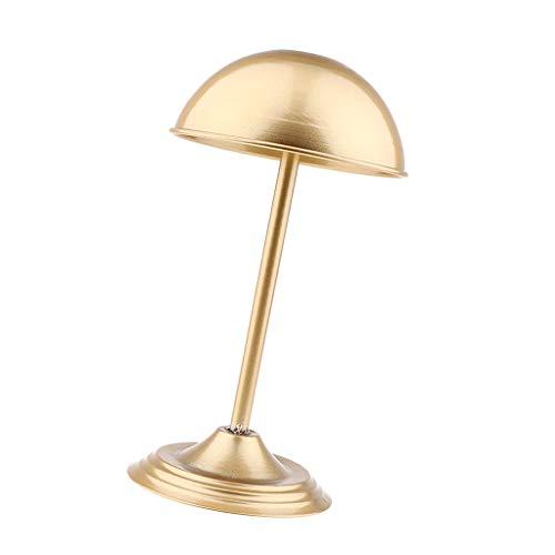 Milageto Chapeau de Table/Perruque/Casquette En Métal de Finition de Forme de - 03