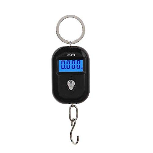 25kg x 5g Digital Escala colgante Mini electrónico del equipaje LCD e