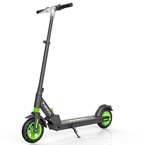 FUNDOT Elektroroller,Elektroroller Erwachsene,Faltbarer Elektroroller,Verstellbare Höhe,3 Geschwindigkeitsmodi,LCD Display,Elektro Scooter Erwachsene