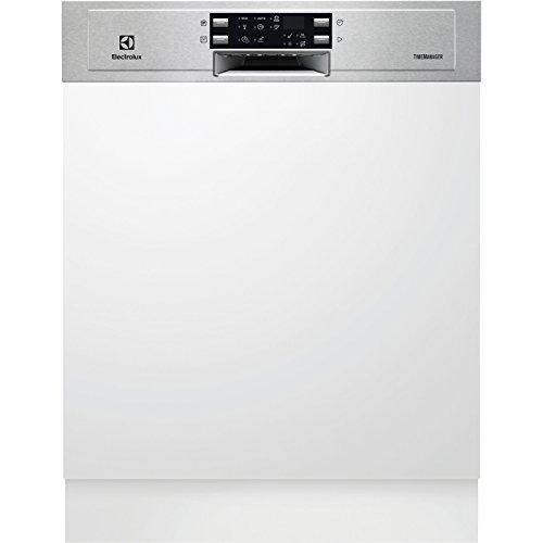 Electrolux ESI5533LOX Semi-incorporado 13cubiertos A+ lavavajilla - Lavavajillas (Semi-incorporado, Tamaño completo (60 cm), Acero inoxidable, Botones, Tocar, LED, 1,5 m)