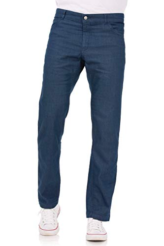 Chef Works Men's Modern 539 Constructed Chef Pants, Indigo Blue, 34