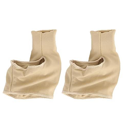 Qqmora Separador de Dedos Pedicura enderezadora Calcetines espaciadores de Dedos para Hombres para la Salud del pie para la corrección del pie para Uso doméstico(L Code)