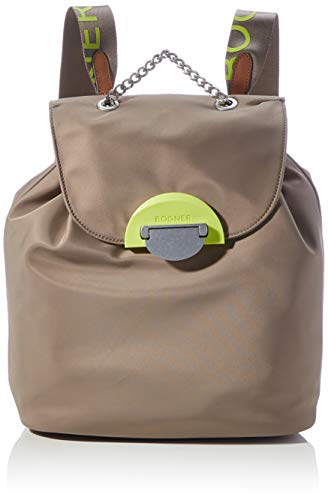 Bogner Damen vanessa fashion backpack/cit, mud, 27x32x15