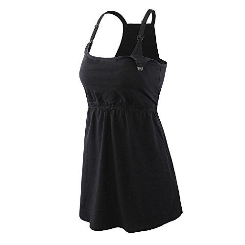 Manci Bluzka do karmienia ciąży, koszulka z racerback ciążowa karmienie piersią sen