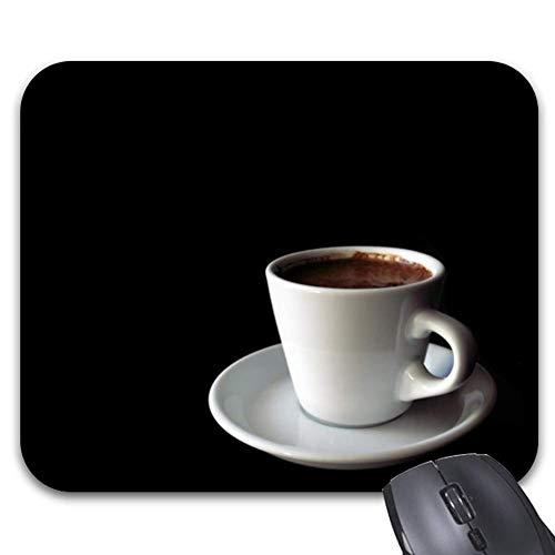 Mauspad Tasse Kaffee 25X30Cm Desktop-Bürotastatur Langlebige Arbeit Rutschfeste Mausmatte Bedrucktes Mauspad Office-Spiel Stilvolles Accessoire Bunter Computer Personalisierter Tis