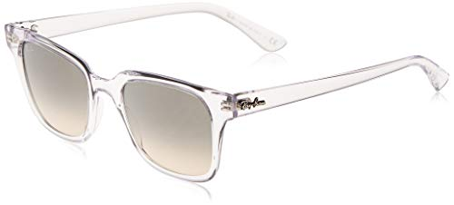 Ray-Ban RB4323-644732 Gafas, Transparente, 51 Unisex Adulto