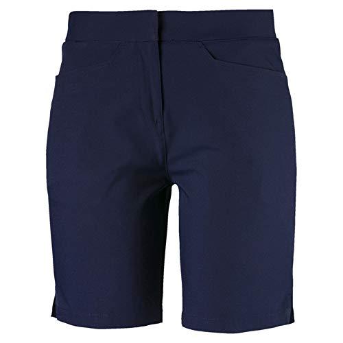 PUMA Damen Pounce Bermuda Shorts, Peacoat, XS
