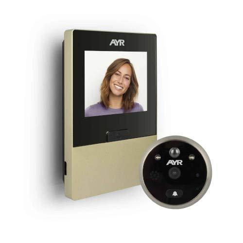 Ayr Mirilla Digital Grabadora con WI-FI 760-N, Niquel Mate, 0