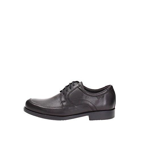 Callaghan 77903, Zapatos Cordones/Zapatos de Vestir, bajo 2-4 cm, Negro, Piel, Redonda, Primavera/Verano, 46