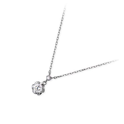[VA ヴァンドームアオヤマ] VA Vendome Aoyama プラチナ ネックレス ダイヤモンド レディース 女性 彼女 プレゼント 誕生日 記念日 ブランド シンプル