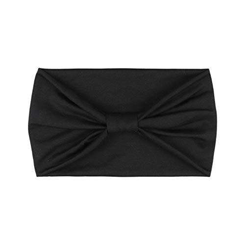 DRESHOW 4 Pack Vintage Modern Style Elastic Women Turban Headbands Twisted Cute Hair Band Accessories