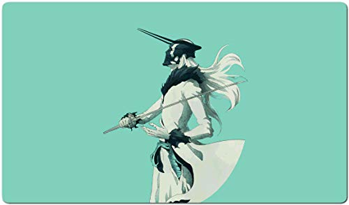 943223 - Bleach Mouse Pad Gaming Large Table Mats (23.6×13.8 in / 60x35 cm) Support Customized Mouse Mat,Extended Mouse Mats Non-Slip Spill-Resistant Desk Pads Keyboard Pad