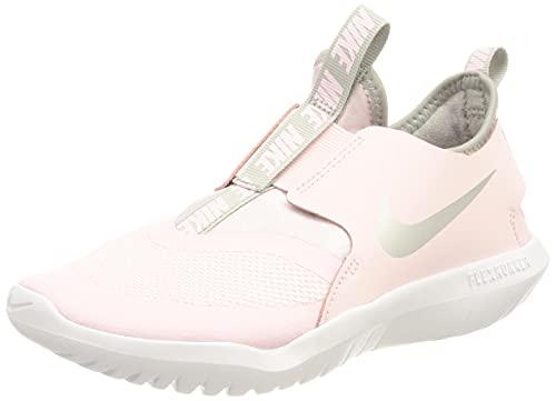 Nike Flex Runner Laufschuh, Pink Foam Metallic Silver Lt Smoke Grey, 18.5 EU thumbnail