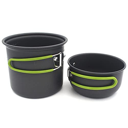 Picnic al Aire Libre Pot Set Camping Seaside Holiday Pot Portable Pot Stim Pot Mini Set