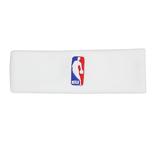Nike Herren Headband NBA Stirnband, White/White, One Size