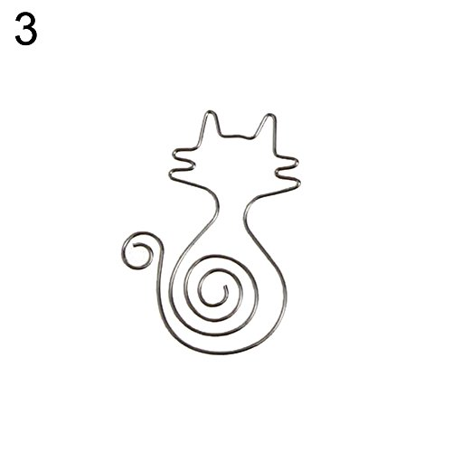 DISPLAY08carino uccello fiore gatto graffette pin segnalibro memo ufficio scuola cancelleria Cat