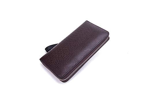 Weier. Ben Nieuwe mannen clutch tas jeugd mode business mobiele portemonnee grote capaciteit pols riem rits tas