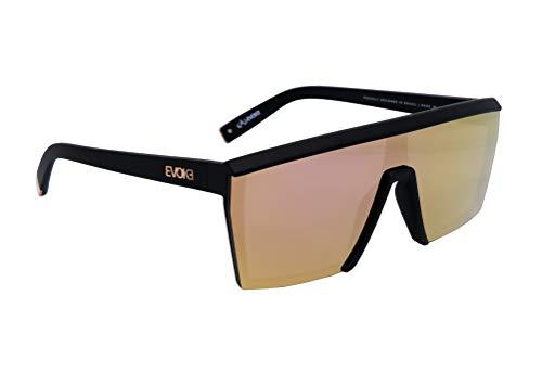 Óculos de sol Futurah, Evoke, Adulto-Unissex, Preto Fosco/ Translucido, Único