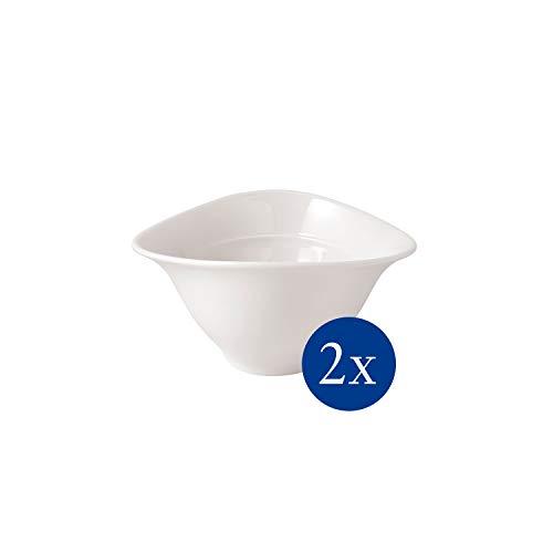 Villeroy & Boch – Vapiano Suppenschalen-Set, 2 Stück, 700 ml, Premium Porzellan, weiß