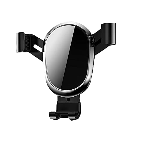 Haihdz mobilhållare bil ventilation mobiltelefon hållare bil 360° vridbar mobilhållare gravitation bilmontering för 4,0–6,5 tum smartphon kompatibel med iPhone Samsung Huawei Xiaomi etc