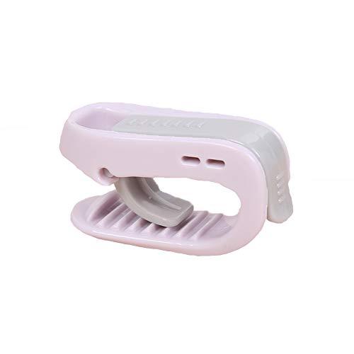 qijin 12PCS Quiltclip Sockenständer Mückenschutz Insektenschutzmittel Sicherheitsnadelfreier Quiltclip, Hochelastischer 3 * 5,5 * 2CM/ Grün (12 Stück)