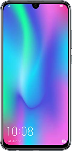 Honor 10 Lite 64 GB Smartphone BUNDLE (16,5 cm (6,21 Zoll), Dual-Kamera, Dual-SIM, Android 9.0) Midnight Black + gratis Honor Classic Earphone [Exklusiv bei Amazon] - Deutsche Version