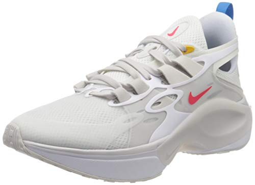Nike Signal D/MS/X, Zapatillas para Correr para Hombre, White/Red Orbit/Summit White/Blue Hero, 43 EU