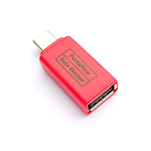 PortaPow USB-C - USB-A Daten Block USB Adapter mit SmartCharge Chip
