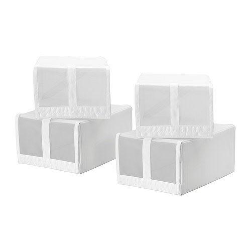 SKUBB - caja de zapatos, blanco