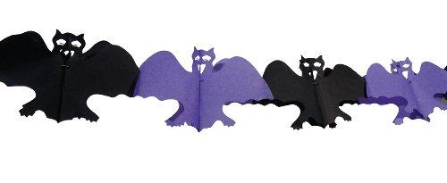 Guirlande Chauve-Souris - décoration Halloween - Taille Unique