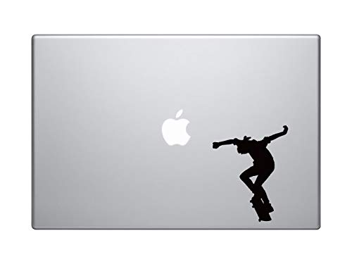 DKISEE Skateboard Trick #4- Skate Shop Art Flatland Ollie Jump - MacBook Vinyl Sticker Sticker Sticker MacBook Laptop Vinyl Sticker Muursticker Auto Sticker 8 inch Onecolor