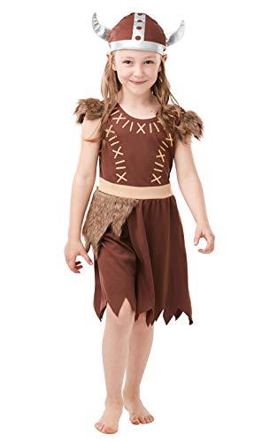 Rubie's officiële Viking meisje, kind kostuum, boek dag curriculum karakter
