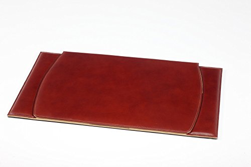 Le sous-main de bureau en cuir Maruse 60 x 34 cm