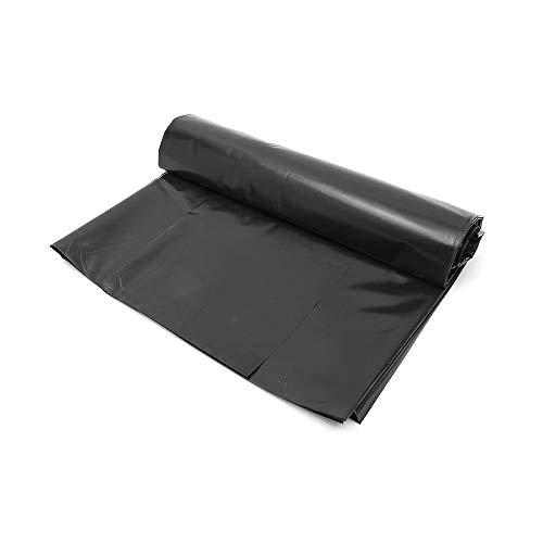 Miracle 3 m x 2 m Teichfolien Zuschnitt PVC, UV- und witterungsbeständig, Schwimmteich Folie Gartenteich Teichplane schwarz, für Teichbau, Garten- und Teichzubehör (S - 0.1 MM)