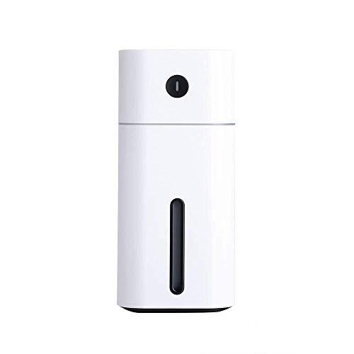 LLKK Humidificador USB Humidificador de escritorio Humidificador de limpieza Humidificador de coche (Color: Amarillo)