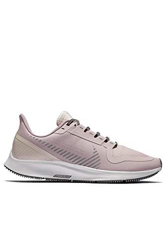 Nike Womens Air Zoom Pegasus 36 Shield Running Trainers AQ8006 Sneakers Shoes (UK 4.5 US 7 EU 38, Plum Chalk Barely Rose 500)