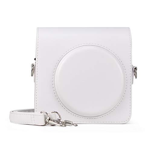Berfea Funda protectora retro portátil compatible con cámara instantánea Fujifilm Instax SQ1...
