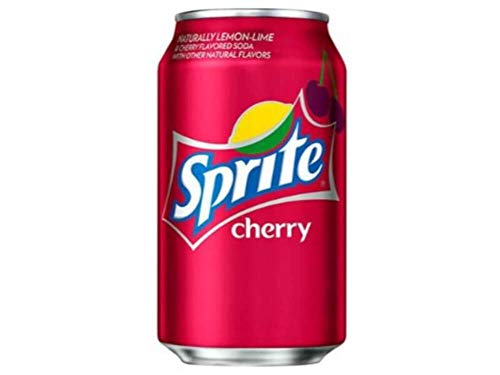 Sprite Cherry soda 12oz cans (pack of 12)