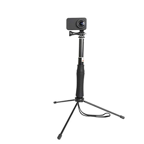 with Tripod Extendable Waterproof Selfie Stick Monopod Hand Grip Tripod Holder For Gopro Hero 8 7 6 5 Sjcam Yi 4k Action Camera Accessories