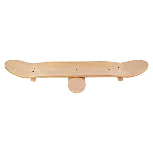 Producto: tabla de equilibrio de fibra de densidad media. 7 capas de fibra de madera. Posibilidades de entrenamiento: la tabla se puede utilizar como apoyo para diferentes juegos de pelota o también sola para un entrenamiento de equilibrio. También e...