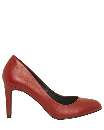 Le Château Women's Almond Toe Pump,9,Red
