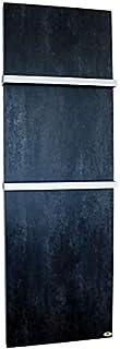 Calefactor de baño por infrarrojos de cerámica con toallero Darknight mate, 630 W, 2000 x 640 x 10 mm