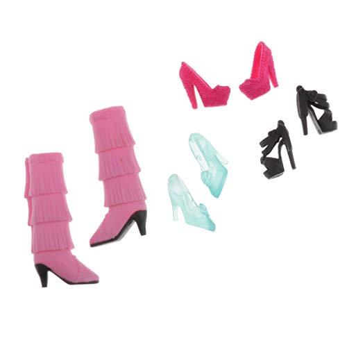 perfeclan Puppen Schuhe Mit Hohen Absätzen Für Blythe 1/6 BJD Puppen Kugelgelenk Puppenzubehör
