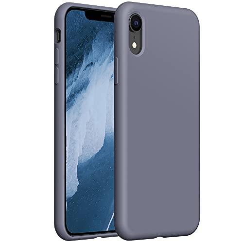 YATWIN Funda de Silicona Compatible con iPhone XR 6,1