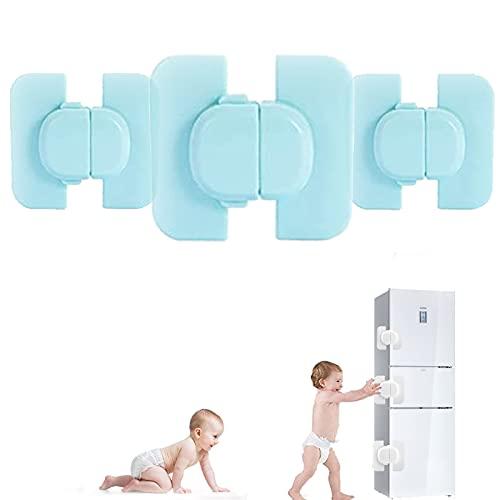3 Piezas Baby Safety Lock,cerradura De Seguridad Para Bebés,cerradura De Nevera,cerradura De Seguridad Autoadhesiva,sin Necesidad De Herramientas Ni...