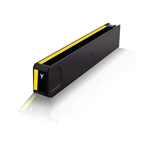 Print-Klex kompatible Tintenpatrone für HP OfficeJet Pro X476 dn X476 dw X551 dw X576 dw HP971 HP-971 HP-971XL HP-971Y HP971XLY CN624AE CN 624AE CN628AE Yellow Gelb
