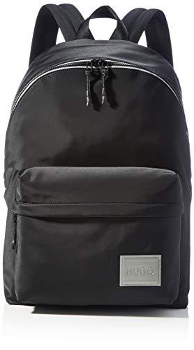 HUGO Herren Record MF_Backpack Rucksack, Black1, Normal