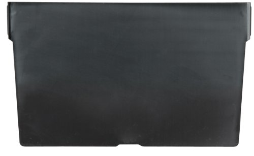 Akro-Mils 40150 Crosswise Width Plastic Divider for 30150, 30158, 30184 Shelf Bin Storage Bins, Black, (24-Pack)