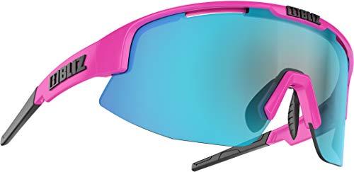 Bliz Matrix Sportbrille, pink/Blue Multi