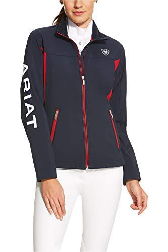 ARIAT Damen Team Softshell2 - Blau - XX-Large